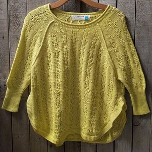 Sparrow by Anthropologie 3/4 sleeved sweater XSP